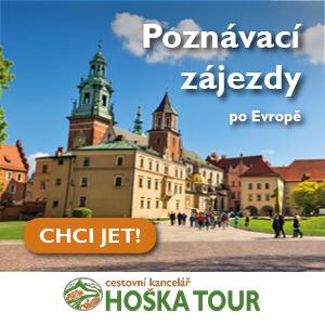 Zájezdy vlakem s CK HOŠKA TOUR