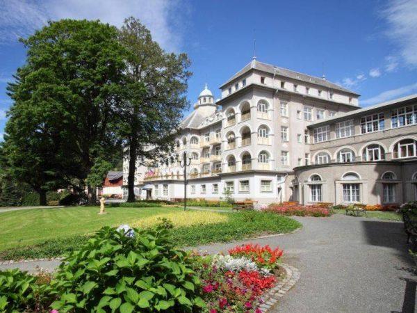 Priessnitzovy léčebné lázně - lázně Jeseník - relaxační, léčebné a wellness pobyty