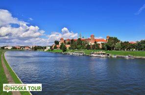 Řeka Visla a hrad Wawel - poznávací zájezd do Krakova
