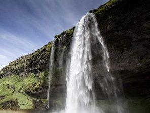 seljalandsfoss vodopád island