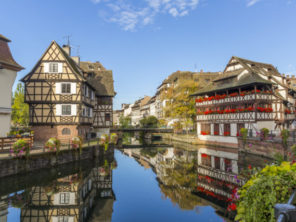 Štrasburk - čtvrť Petite France