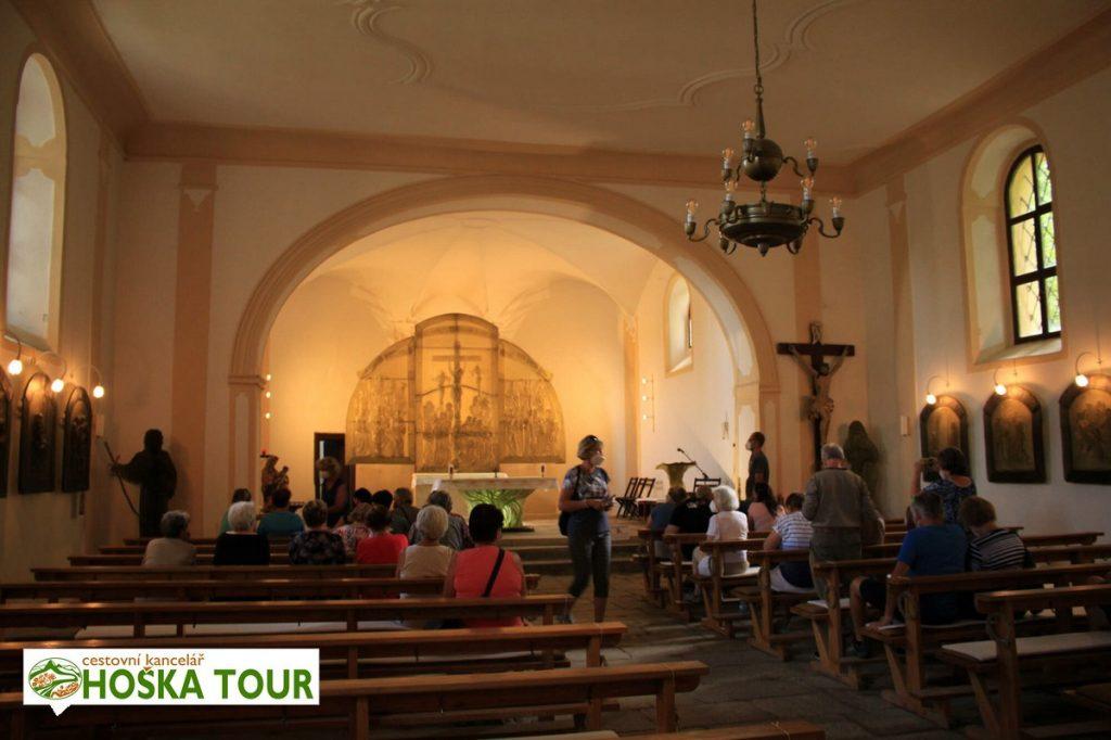 V kostele sv. Vintíře