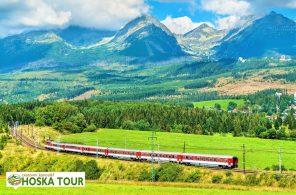 Vlak pod Tatrami
