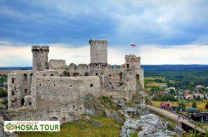 Zřícenina hradu Ogrodzieniec - poznávací zájezd do Polska